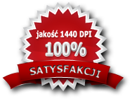 jakość 1440 dpi 100% satysfakcji
